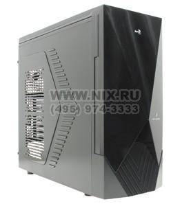 купить Корпус ATX Aerocool [Sixth element-BK/Blue][EN56502] без БП