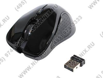 купить Мышь USB Defender Wireless Optical Mouse[Verso MS-375 Nano]Black Piano(RTL),6кн.(с колесом),беспрово