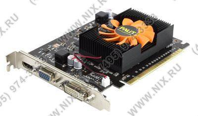 купить Видеоадаптер PCI-E 1Gb DDR-3 Palit [GeForce GT630] (OEM)+DVI+HDMI