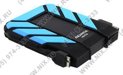 "купить Жесткий диск USB3.0 1Tb ADATA [AHD710-1TU3-CBL] DashDrive Durable Blue Portable 2.5"" HDD EXT (RTL)"