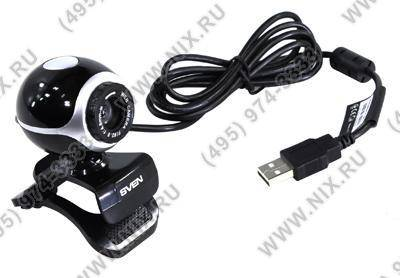 купить Веб-камера SVEN [IC-300 Black-Silver] Web-Camera (640x480, USB, микрофон)