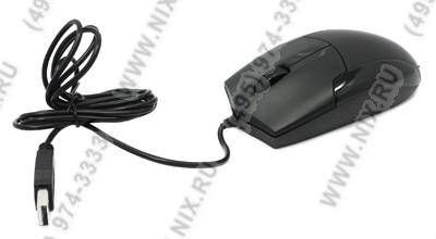 купить Мышь USB CBR Silent Optical Mouse[CM302 Black] (RTL) 3кн.(с колесом)