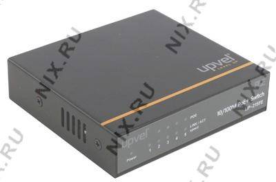 купить Коммутатор UPVEL[UP-215FE]5-port Fast Ethernet PoE+Switch(4UTP 10/100Mbps PoE+1UTP 10/100Mbps)