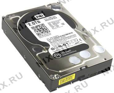 "купить Жесткий диск 2 Tb SATA-III Western Digital Black [WD2003FZEX] 3.5"" 7200rpm 64Mb"