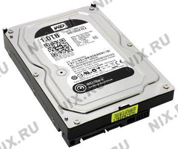 "купить Жесткий диск 1 Tb SATA-III Western Digital Black [WD1003FZEX] 3.5""  7200rpm  64Mb"