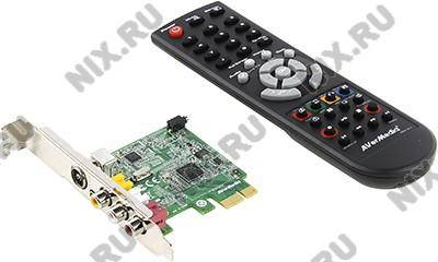 купить Контроллер PCI-Ex1 TV Tuner FM ДУ AVerMedia [AVerTV Express 009] (RTL) (analog)