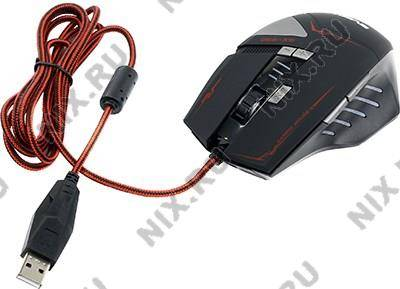 купить Мышь USB SVEN Gaming Optical Mouse [GX-990 Gaming Black] (RTL) 8кн.(с колесом)