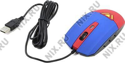 купить Мышь USB CBR Vibration Optical Mouse[CM-833 Superman] (RTL) 3кн.(с колесом)