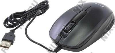 купить Мышь USB OKLICK Optical Mouse [195M] [Black] (RTL) 3кн.(с колесом) [945621]