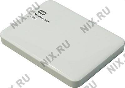 "купить Жесткий диск USB3.0 1Tb WD [WDBDDE0010BWT-EEUE] My Passport Ultra Drive White 2.5"" EXT (RTL)"