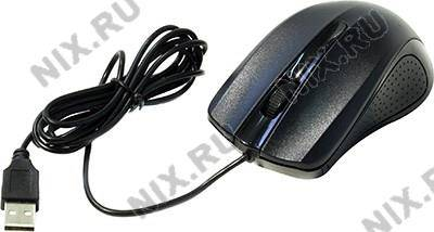 купить Мышь USB OKLICK Optical Mouse [225M] [Black] (RTL) 3кн.(с колесом) [997791]