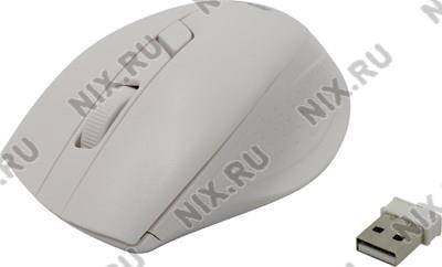 купить Мышь USB SVEN Wireless Optical Mouse [RX-325 Wireless White] (RTL) 4кн.(с колесом)