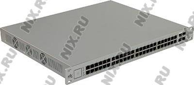 купить Коммутатор 52-порт. UBIQUITI [US-48-750W] UNIFI Switch (48UTP 10/100/1000Mbps PoE+, 2SFP)