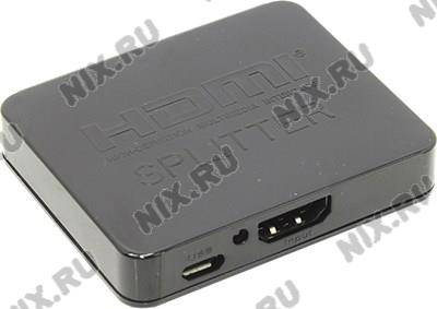 купить Разветвитель HDMI Splitter 2-port (1in - > 2out) Orient [HSP0102HL]