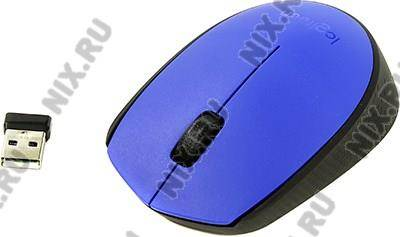 купить Мышь USB Logitech M171 Wireless Mouse (RTL) 3кн.(с колесом) [910-004640]