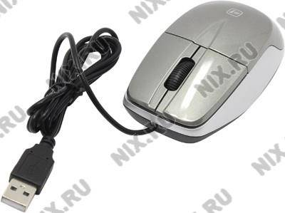 купить Мышь USB Defender Optical Mouse [MS-940 Grey] (RTL) 3кн.(с колесом) [52942]
