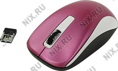 купить Мышь USB Genius Wireless BlueEye Mouse NX-7010 [Magenta] (RTL) 3кн.(с колесом) (31030114107)