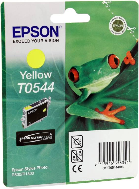 купить Картридж Epson T054440 Yellow для EPS ST Photo R800  13ml  !!! ТОЛЬКО СКЛАД !!!