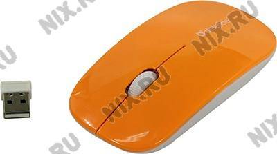 купить Мышь USB Defender Wireless Optical Mouse NetSprinter[MM-545 Orange+White](RTL)3кн.(с колесом)[52546]
