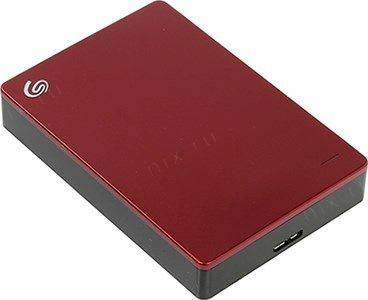 купить Жесткий диск USB3.0 4Tb Seagate Backup Plus Portable [STDR4000902] Red (RTL)
