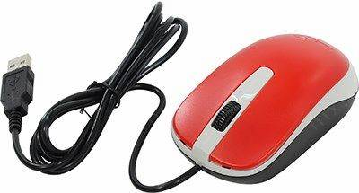 купить Мышь USB Genius Optical Mouse DX-120 [Red] (RTL) 3кн.(с колесом) (31010105104)