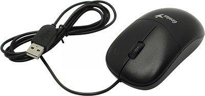 купить Мышь USB Genius Optical Mouse DX-135 [Black] (RTL) 3кн.(с колесом) (31010236100)