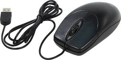 купить Мышь USB Genius Optical Mouse NetScroll 120 V2 [Black] (RTL) 3кн.(с колесом) (31010235100)
