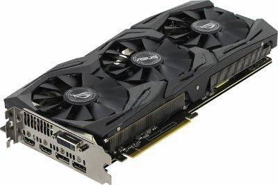 купить Видеоадаптер PCI-E 6Gb DDR5 ASUS STRIX-GTX1060-6G-GAMING(RTL)DVI+DualHDMI+DualDP[GeForce GTX1060]