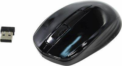 купить Мышь USB OKLICK Wireless Optical Mouse [475MW] [Black] (RTL) 3кн.(с колесом) [945835]