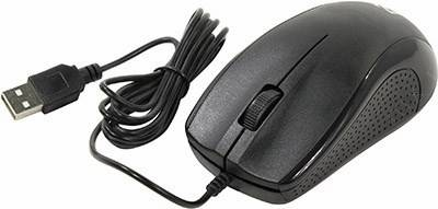 купить Мышь USB Defender Optical Mouse [Optimum MB-160 Black] (RTL) 3кн.(с колесом), [52160]