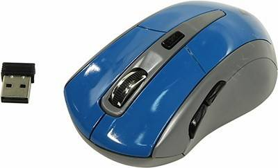 купить Мышь USB Defender Accura Wireless Optical Mouse [MM-965] (RTL) 6кн.(с колесом) [52967]