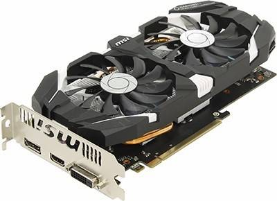 купить Видеоадаптер PCI-E 6Gb DDR5 MSI V809 GTX 1060 6GT OCV1 (RTL) DVI+HDMI+DP [GeForce GTX1060]