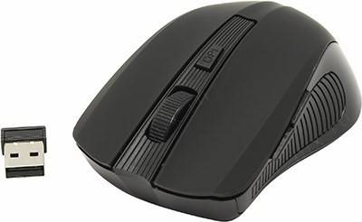 купить Мышь USB SVEN Wireless Optical Mouse [RX-345 Wireless Black] (RTL) 6кн.(с колесом)