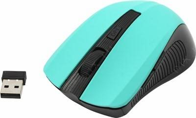 купить Мышь USB SVEN Wireless Optical Mouse [RX-345 Wireless Mint] (RTL) 6кн.(с колесом)