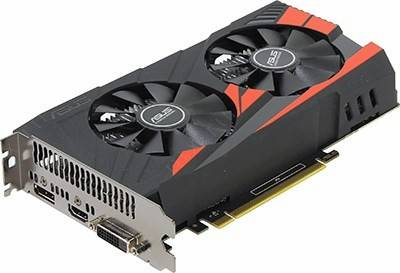 купить Видеоадаптер PCI-E 4Gb DDR5 ASUS EX-GTX1050TI-4G (RTL) DVI+HDMI+DP[GeForce GTX1050Ti]