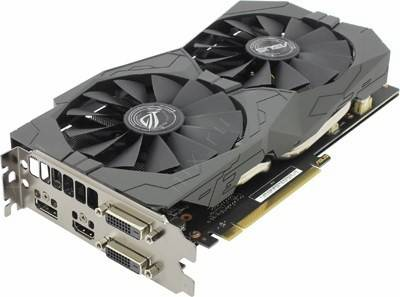 купить Видеоадаптер PCI-E 4Gb DDR5 ASUS STRIX-GTX1050TI-O4G-GAMING(RTL)DualDVI+HDMI+DP[GeForce GTX1050Ti]