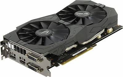купить Видеоадаптер PCI-E 2Gb DDR5 ASUS STRIX-GTX1050-O2G-GAMING (RTL) DualDVI+HDMI+DP[GeForce GTX1050]