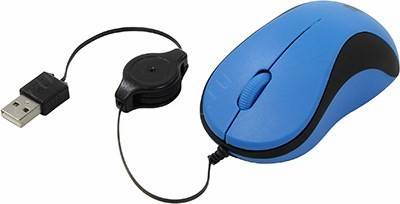 купить Мышь USB Defender Accura Optical Mouse [MS-960 Blue] (RTL) 3кн.(с колесом) [52960]