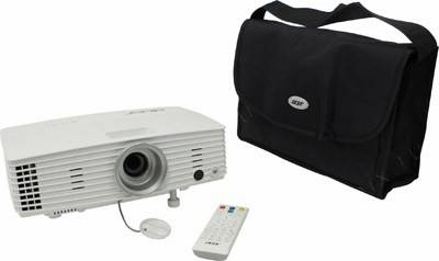 купить Проектор Acer Projector H5383BD(DLP,3400 люмен,20000:1,1280x720,D-Sub,HDMI,RCA,S-Video,USB,ПДУ,2D/3D
