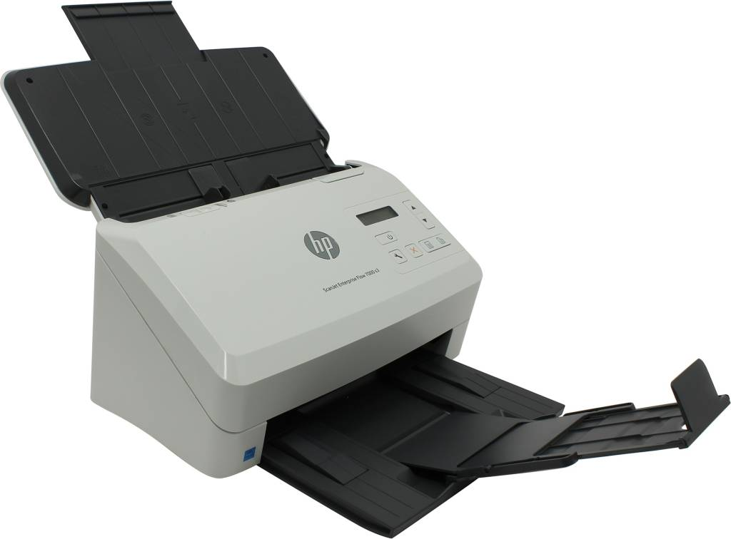 купить Сканер HP ScanJet Enterprise Flow 7000 S3[L2757A](A4 Color,протяжной,600dpi,75 стр/м,USB3.0,DADF)