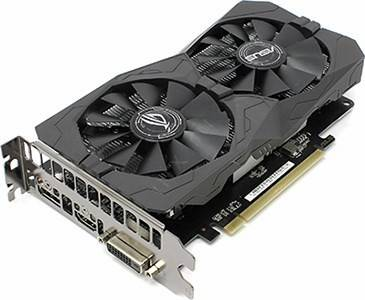 купить Видеоадаптер PCI-E 4Gb DDR5 ASUS ROG-STRIX-RX560-O4G-GAMING (RTL) DVI+HDMI+DP [RADEON RX 560]