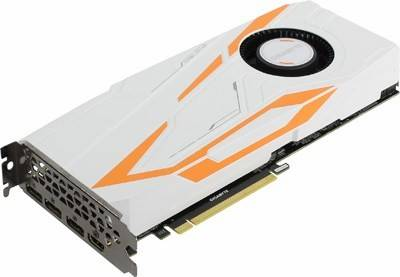 купить Видеоадаптер PCI-E 11Gb DDR5X GIGABYTE GV-N108TTURBO-11GD (RTL) HDMI+3xDP [GeForce GTX1080Ti]