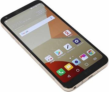 "купить Смартфон LG Q6a M700 Black Gold(1.4GHz,2GbRAM,5.5"" 2160x1080 IPS,4G+BT+WiFi+GPS,16Gb+microSD,13Mpx,A"