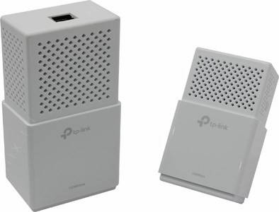 купить Адаптер TP-LINK [TL-WPA7510KIT]A V1000 Powerline ac WiFi Kit(2 адаптера,UTP,802.11a/b/g/n/ac,433
