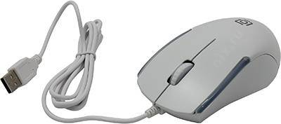 купить Мышь USB OKLICK Optical Mouse [245M] [White] (RTL) 3кн.(с колесом) [471480]