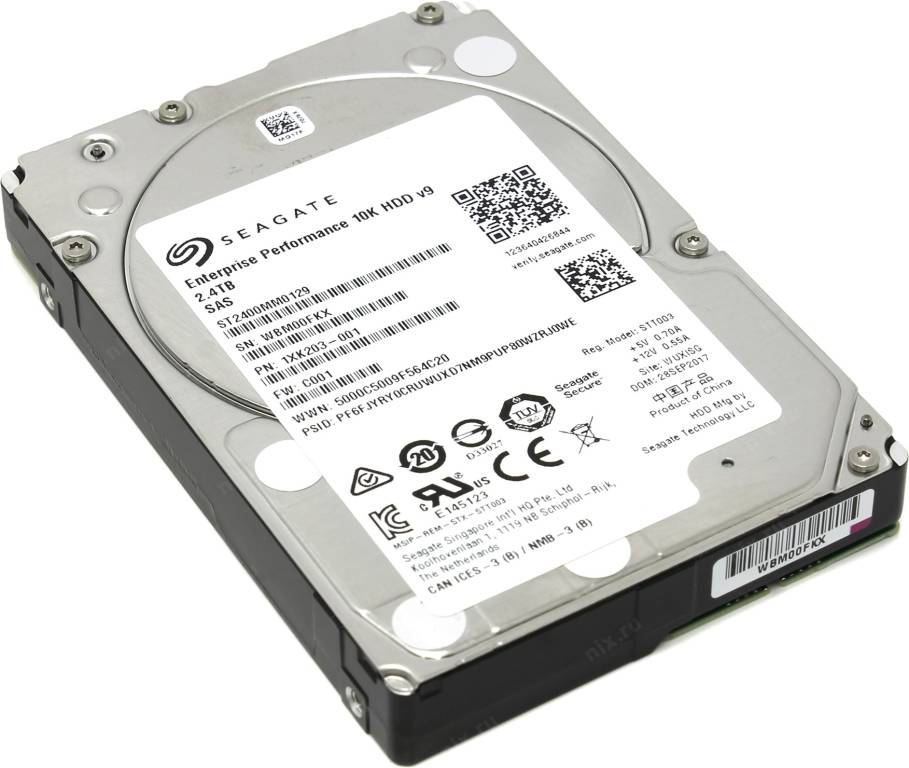 "купить Жесткий диск 2.4 Tb SAS 12Gb/s Seagate Enterprise Performance 10K [ST2400MM0129] 2.5"" 10000rpm"
