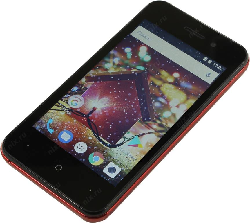 "купить Смартфон Digma HIT Q401 3G[1013095]Dark Red(1.3GHz,1Gb,4"" 800x480 TN,3G+WiFi+BT,8Gb+microSD,2Mpx)"