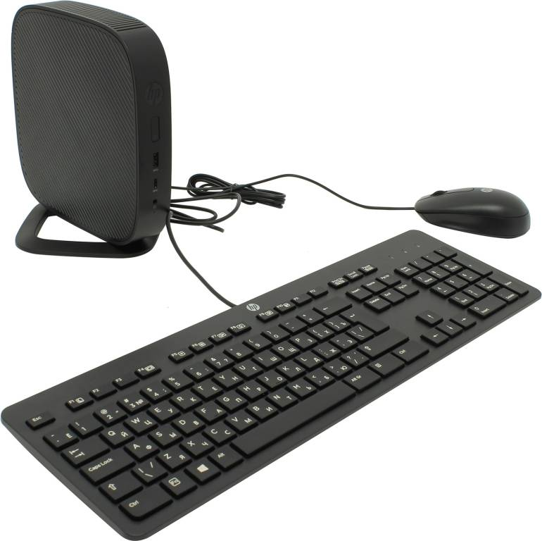 купить Тонкий клиент HP T530 Flexible Thin Client[Y5X64EA#ACB]AMD GX-215JJ/4/16Gb SSD/GbLAN/WiFi/BT/HP Thin