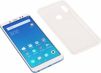 "купить Смартфон Xiaomi Redmi Note 5 4/64Gb Blue(1.8GHz,4Gb,5.99""2160x1080 IPS,4G+WiFi+BT,64Gb+microSD,12+5M"