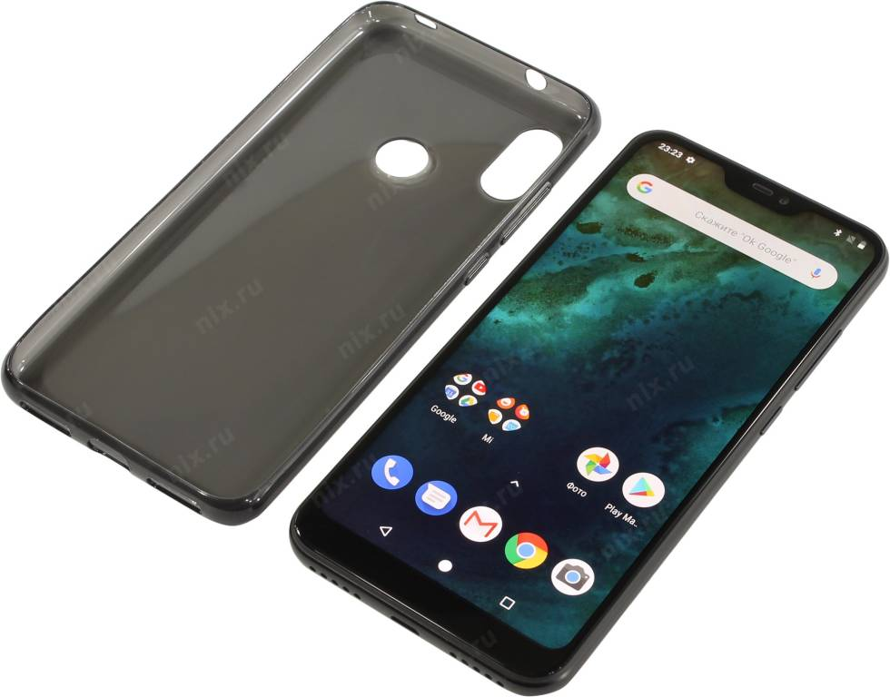 "купить Смартфон Xiaomi Mi A2 Lite 3/32Gb Black(2GHz,3Gb,5.84""2160x1080 IPS,4G+WiFi+BT,32Gb+microSD,12+5Mpx)"